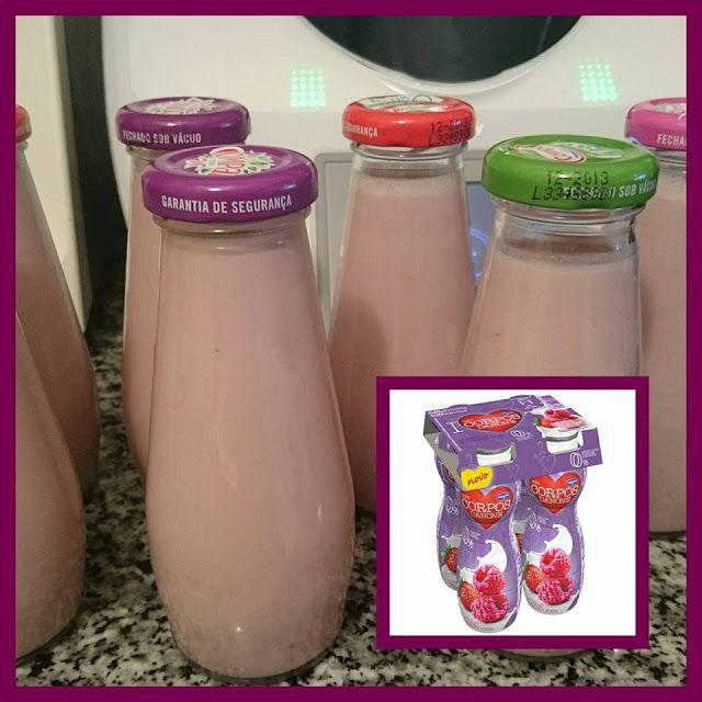 Bimby Truques & Dicas: Iogurtes líquidos magros de Morango/framboesa.