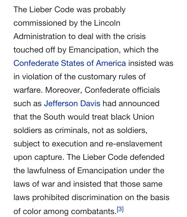 innovators of war lincoln and lieber essay Francis lieber (march 18, 1798 or  war department and president abraham lincoln in drafting  dahlgren affair papers shortly after obtaining them, lieber was.