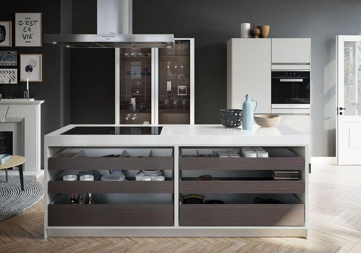 SieMatic Urban SE S2 - un mélange de styles et de matières tout en finesse.