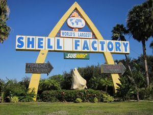 The Shell Factory is located in Fort Myers, Fl and only 50 mins. from Port Charlotte, FL