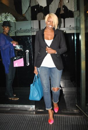 EXCLUSIVE: NeNe Leakes comes to Mr. Chow for dinner