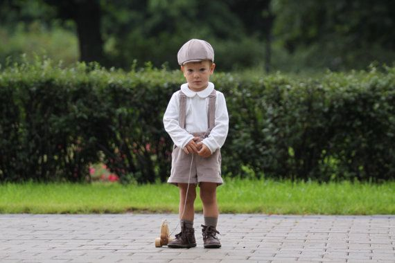 Baby boy shorts Ring bearer outfit Toddler boys pants Baby boy suspenders Boys velvet trousers Boys clothes Diaper cover