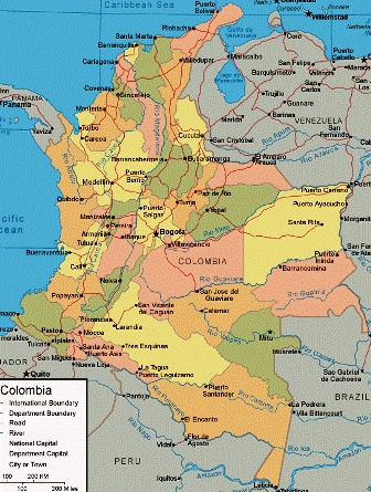 #Colombia. map. For My handmade greeting cards visit me at My Personal blog: http://stampingwithbibiana.blogspot.com/