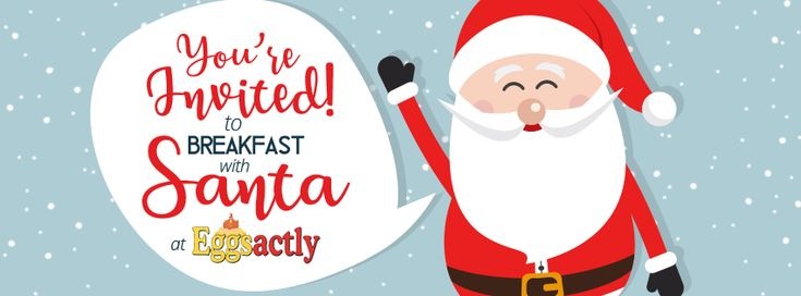 Breakfast with Santa at Eggsactly 2017 - Oakville Shops