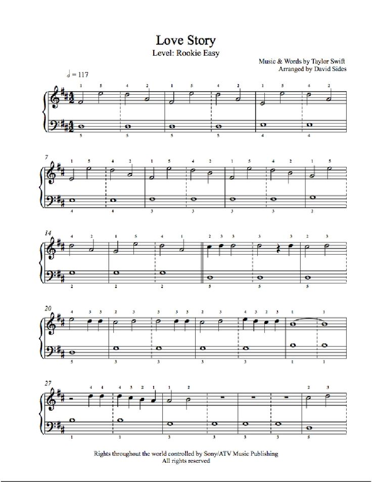 Learn To Play Piano Free Sheet Music – Howsto.Co