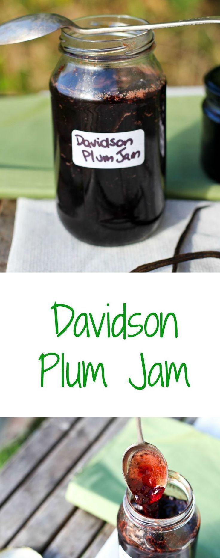 100% Australian Davidson Plum Jam Recipe