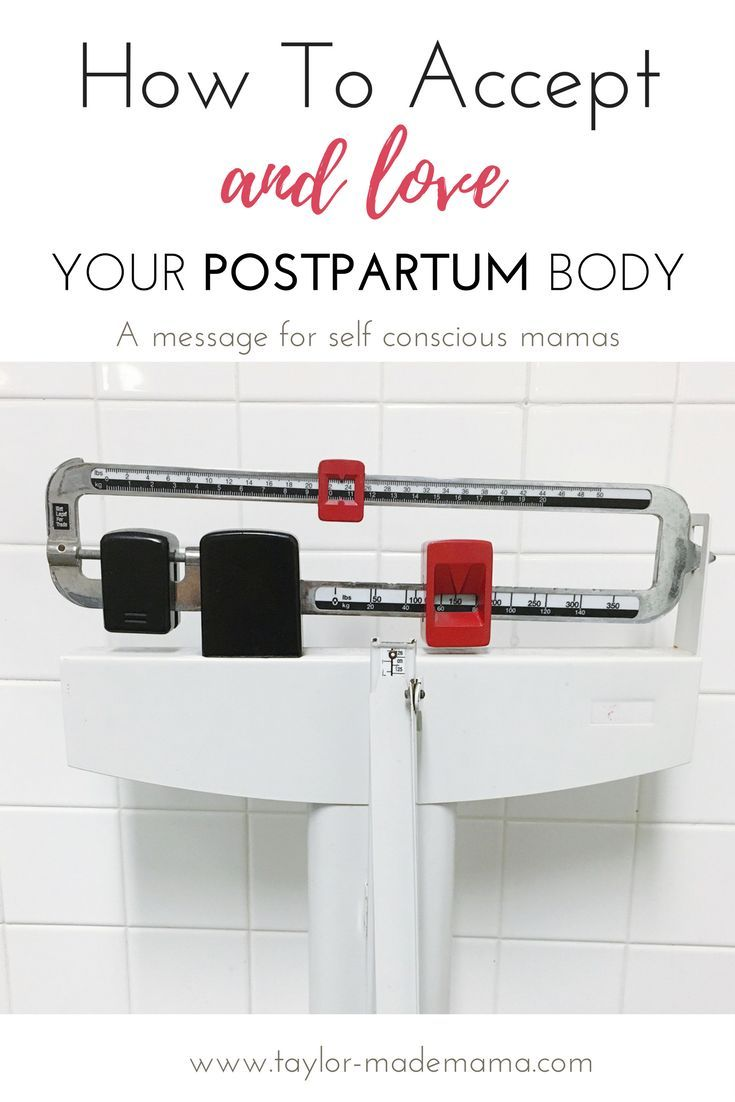 How to accept and love your postpartum body. Postpartum body confidence is possible.