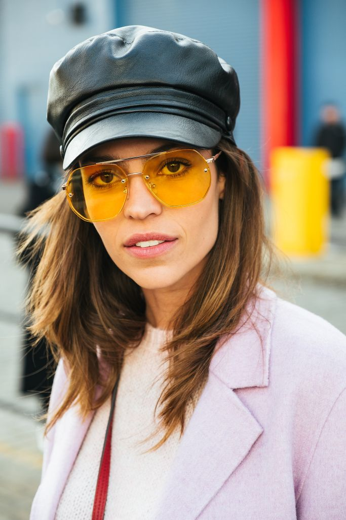 51645144a9 The Best Eyewear Styles from New York Fashion Week Fall 2018 Street Style  Trend Sunglasses Glasses Eyeglasses Shopping Online Instagram New York  Influencer ...