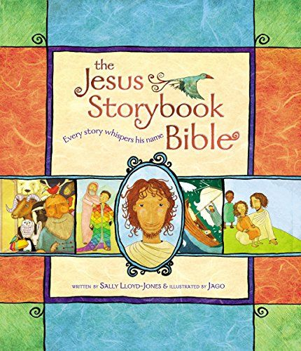 The Jesus Storybook Bible: Every Story Whispers His Name…The Moonbeam Award Gold Medal Winner in the religion category, The Jesus Storybook Bible tells the Story beneath all the stories in the Bible. At the center of the Story is a baby, the child upon whom everything will depend. Every story whispers his name. From Noah to Moses to the great King David---every story points to him. He is like the missing piece in a puzzle---the piece that makes all the other pieces fit together. (affiliate…