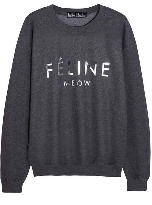 Brian Lichtenberg Féline Cotton-blend Jersey Sweatshirt