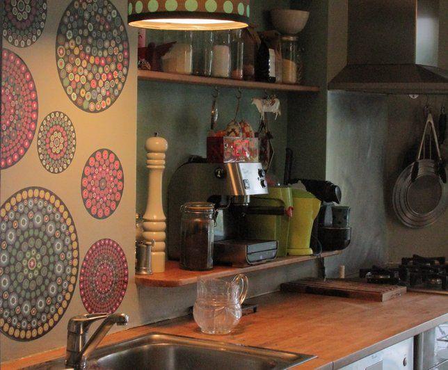 Photo Deco : Cuisine  Gris  Retro   Maison Couleurs Vintage