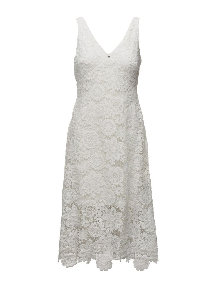 Lauren Ralph Lauren Lace Midi Dress