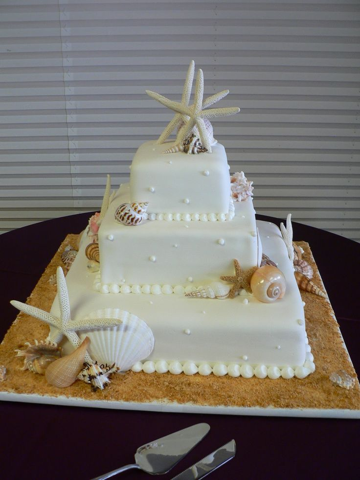 beach wedding cakes 2 tier 46 best ideas about wedding cakes on seashell 11180