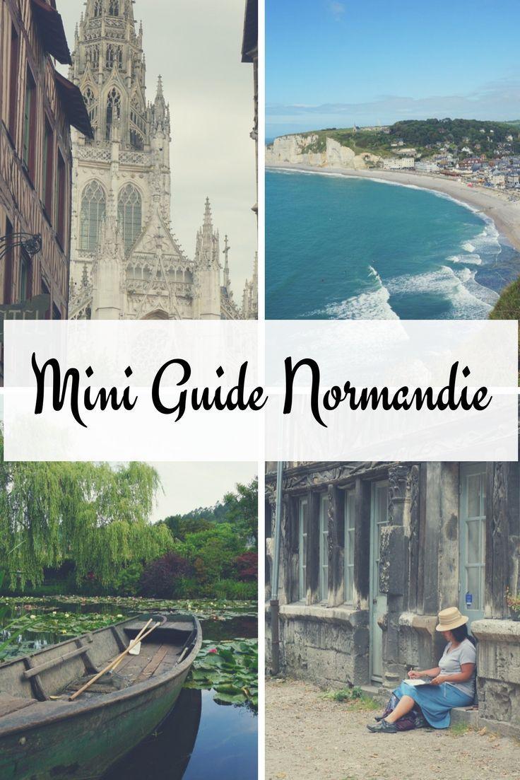 Normandie Frankreich: Hier bekommst du Tipps für deinen Frankreich Urlaub. Wie wäre es mit dem Norden und der wunderschönen und unterschätzten Normandie?