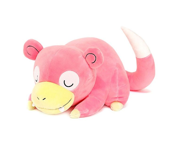 Authentic Pokemon XY Character Sleeping Slowpoke 30cm 40cm Cushion Plush Doll #Pokemon