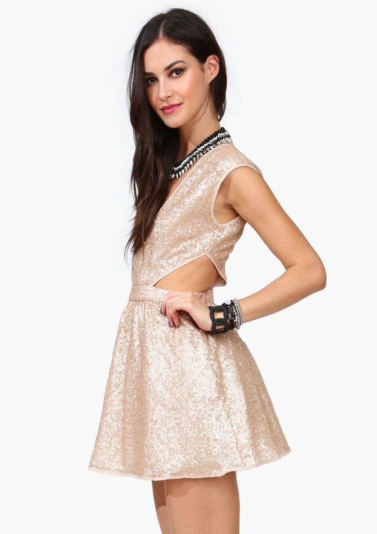Punk princess sequined dress