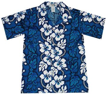 Beach Boy Cotton Hawaiian Shirt : Shaka Time Hawaii Clothing Store