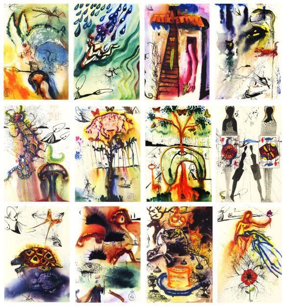 Salvador Dali - Alice in Wonderland