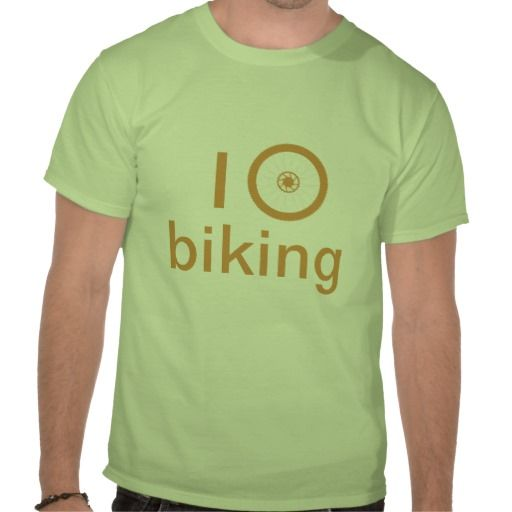 I love biking t-shirts