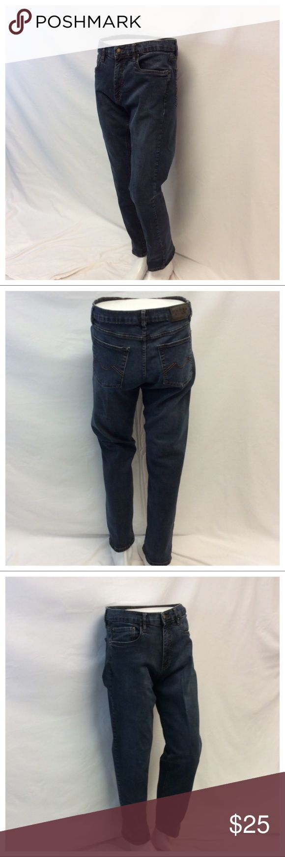 """URBAN STAR Men's Jeans URBAN STAR Men's Jeans, Size 34 32, 98% cotton, 2% spandex, machine washable. Approximate measurements are 17"""" waist laying flat, 41"""" waist to hem, 11 1/2"""" waist to crotch, 31 1/2"""" inseam, 5 1/2"""" zipper. 0612 Urban Star Jeans"""