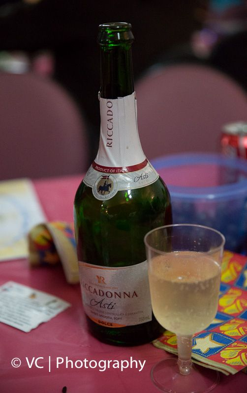 Champagne for the New Year Eve Dance Party!