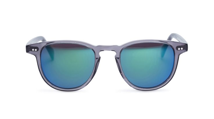 Campbell - Slate / Grey Lens with Emerald Mirror from Pacifico Optical