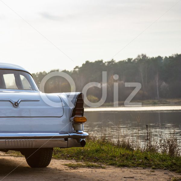 Qdiz Stock Photos | Old retro or vintage car back side,  #ancient #antique #automobile #automotive #back #backlight #car #classic #collection #glass #History #lamp #lens #lifestyles #light #nostalgia #obsolete #old #retro #side #taillight #transportation #vehicle #view #vintage