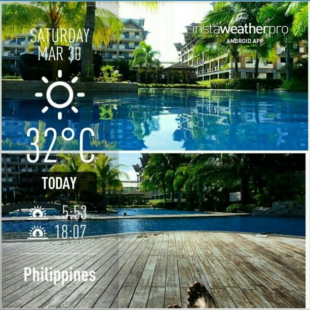 #プール で#水泳#ウォーキング #夏#フィリピン #walking and #swim #exercise in a #swimming#pool #hot#summer #holyweek#holidays #blacksaturday #philippines