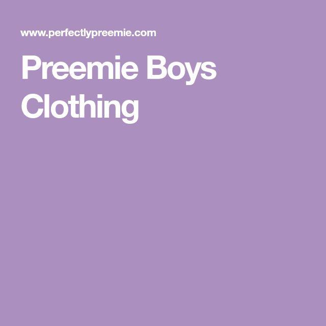 Preemie Boys Clothing
