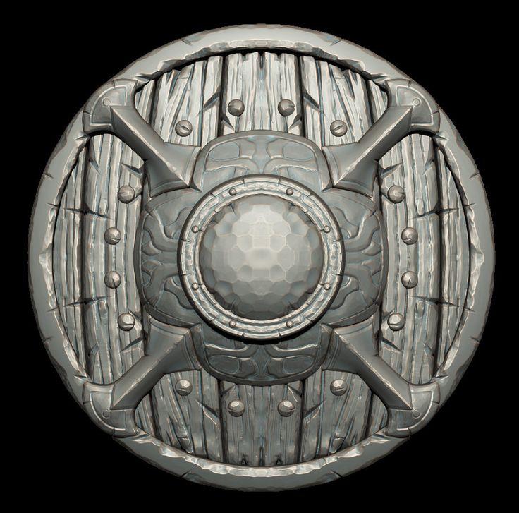 ArtStation - Shield, Luis Fabregas