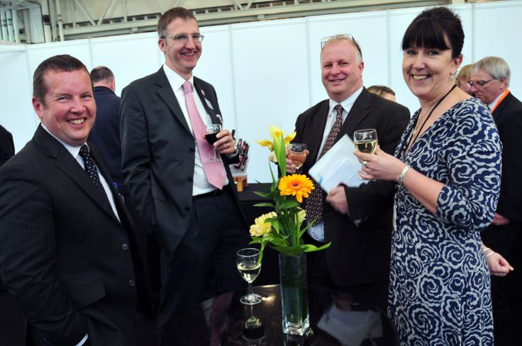 Networking Drinks at MEDTEC UK 2013