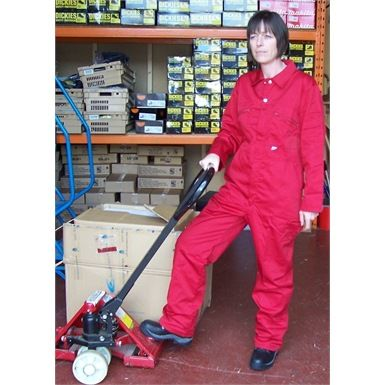 These Castle 366W Ladies Zip Front Overalls are a functional yet robust coverall garment that's available in six great colours. They've been designed to be worn daily and offer comfort and great durability. Therefore making them well suited to jobs around the home as well as gardening and other outdoor activitys.