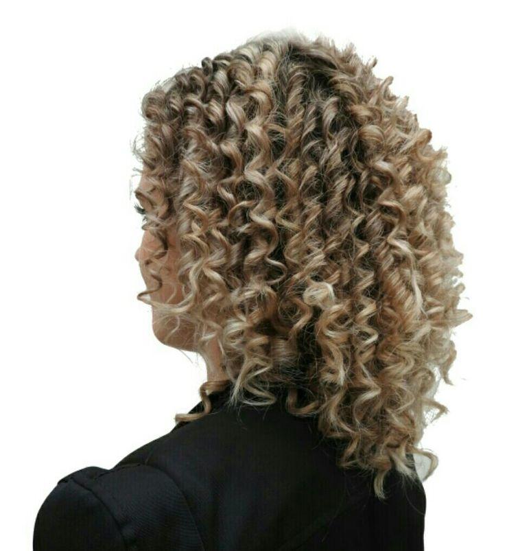 #curls #chopstick #curly #hair #krullen #spiraal
