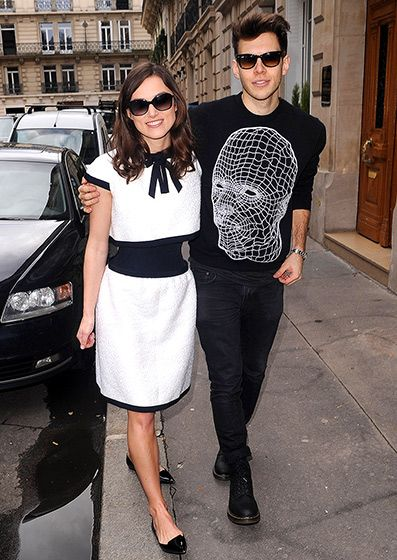 Keira's Rocker Prince, Kiera Knightley with her husband James Righton