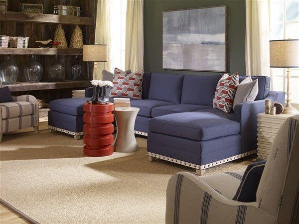 Vanguard Furniture 647 Lah Stanton Left Arm Chaise Als