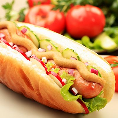 Hot-Dog Veggie tex-mex