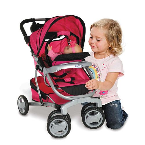 graco quattro baby doll stroller we xmas and toys r us. Black Bedroom Furniture Sets. Home Design Ideas