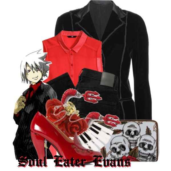"""""""Soul Eater Evans from Soul Eater"""" by likeghostsinthesnow on Polyvore"""