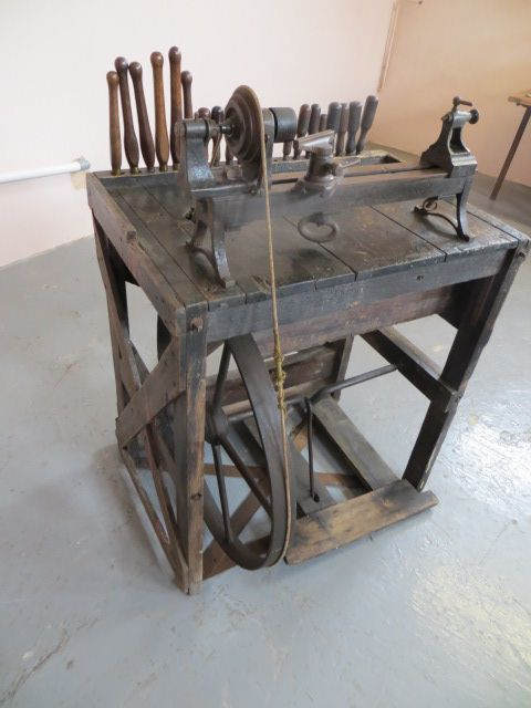 antique sussex chair makers wood turners lathe - photo angle #2