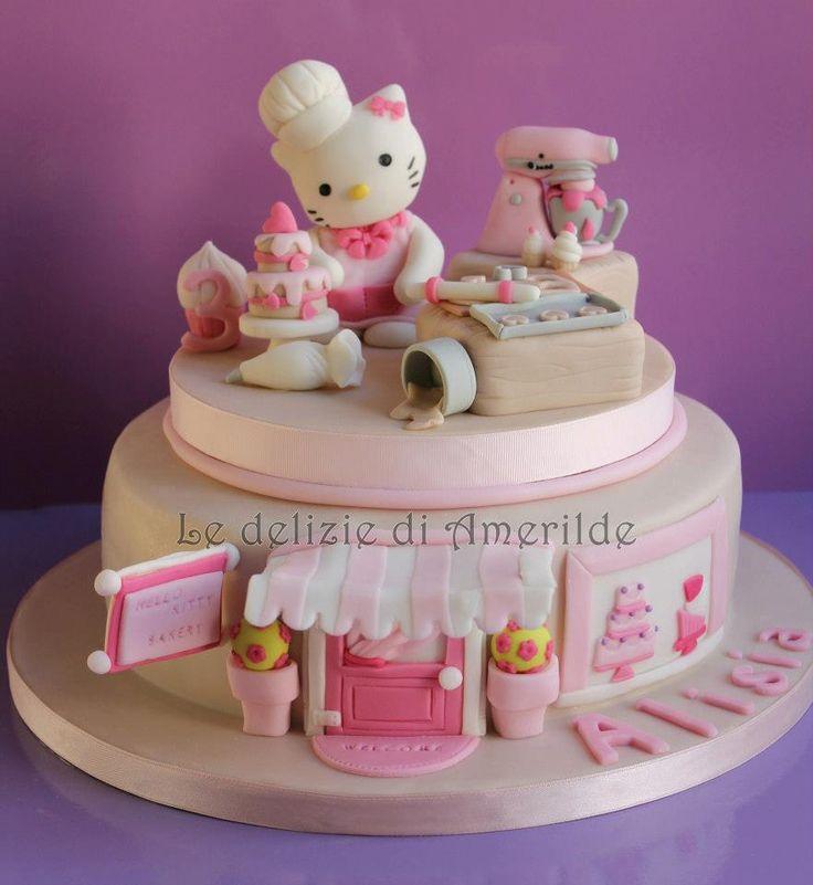 Hello Kitty Cake Designer Cake by Le Delizie di Amerilde