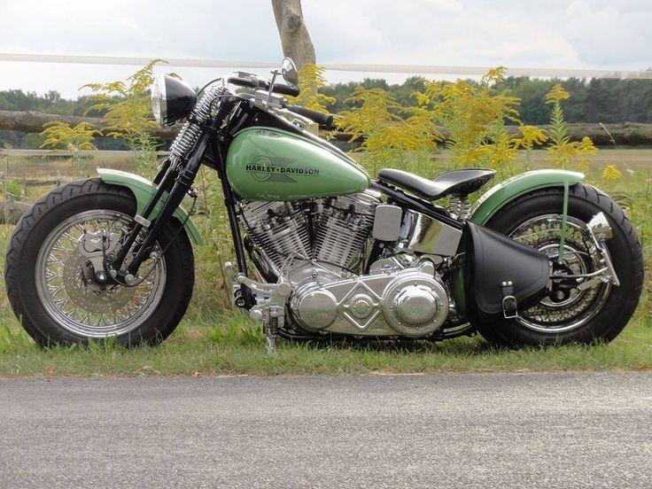 Harley-Davidson HD bobber oldschool