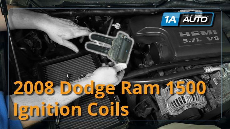 Latest Dodge RAM – How to Install Replace Ignition Coils Dodge Ram 1500 Hemi 5.7L BUY QUALITY AUTO PARTS AT 1AAUTO.COM – 68790 Winside NE Jan 2018.    1A Auto shows you how to repair, install, fix, change or replace a bad or broken ignition coil / coil pack. This video is applicable...