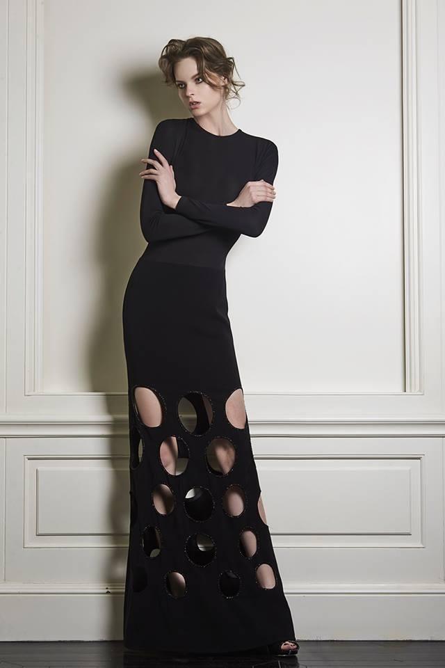 Olivia Culpo wearing Celia Kritharioti Haute Couture