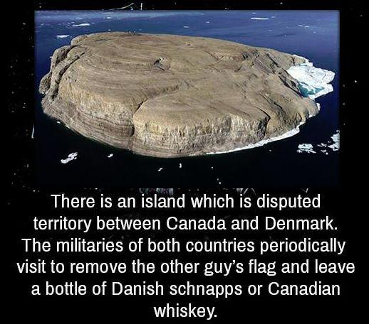 How civilised societies resolve territorial disputes!