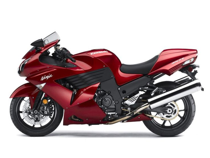 photos of crotch rockets | Kawasaki Ninja ZX 14 Crotch Rocket - Cherry Color