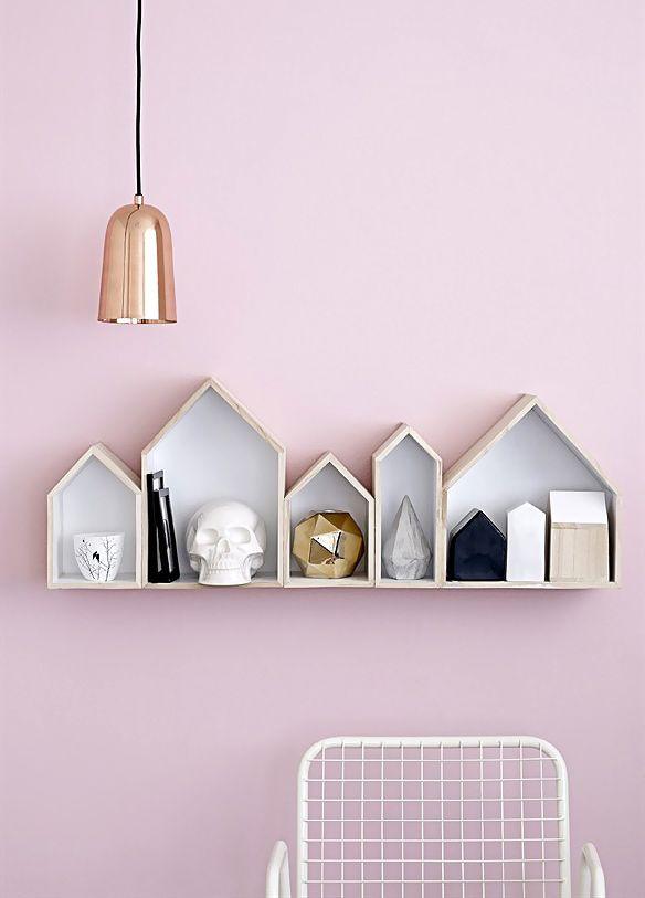 White skull & House (porcelain) - Bloomingville - Bird on the wire www.botw.fr