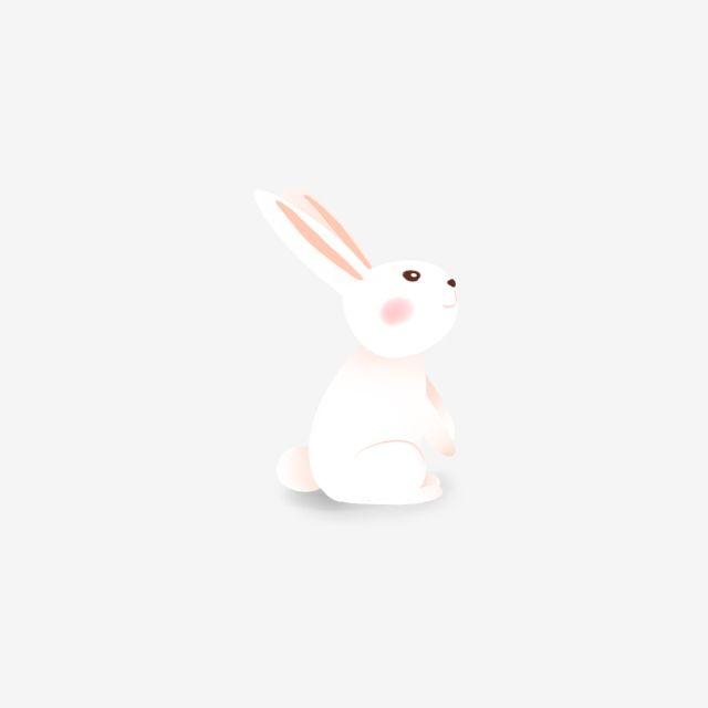 Cartoon White Rabbit Illustration Cartoon Cute Rabbit Png Transparent Clipart Image And Psd File For Free Download Rabbit Illustration Rabbit Png Illustration
