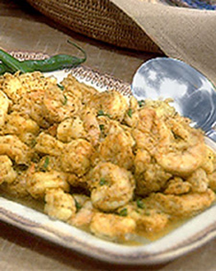 Madhur's Shrimp in Mustard Seed and Green Chile Sauce Recipe | Martha Stewart