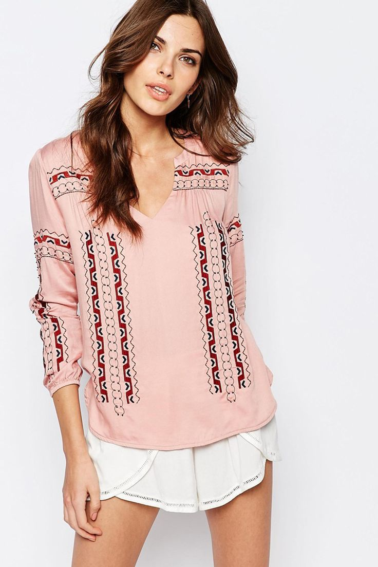 See U Soon Embroidered Tunic Top