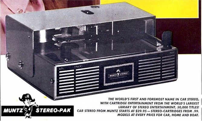 Muntz stereo pak - Elektronika,tech,retro-hírportál